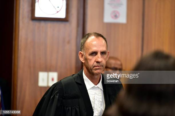 Defence attorney Peter Daubermann during the rape and human trafficking trial of controversial Nigerian pastor Timothy Omotoso and his coaccused...