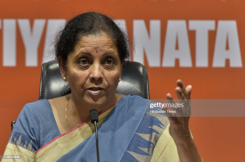 IND: Press Conference Of Defence Minister Nirmala Sitharaman