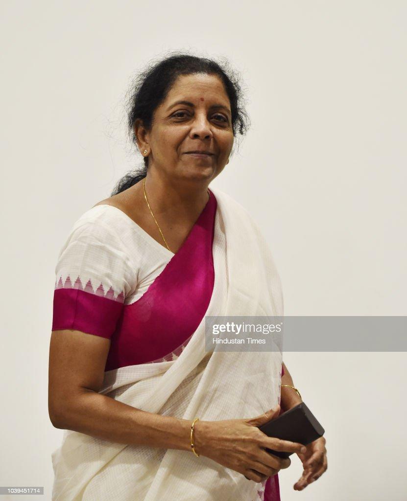 Press Conference Of Defence minister Nirmala Sitharaman