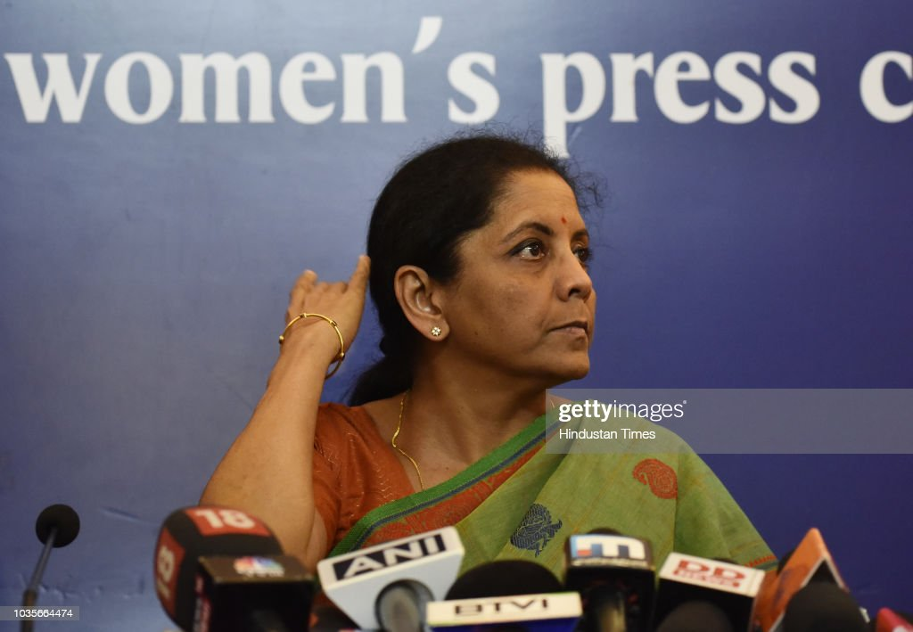 Defence Minister Nirmala Sitharaman Interaction With Women Journalists At Indian Women's Press Corps
