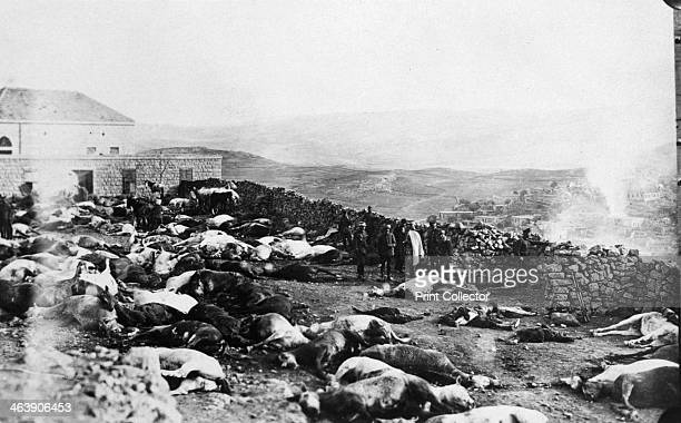 Defence of the Citadel of Rachaya Druze rebellion Jabal el Druze Syria 1925 The Druze rebellion was a revolt by Syrian nationalists against the...
