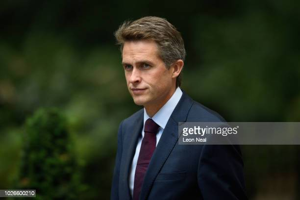 Defence Secretary Gavin WIlliamson arrives in Downing Street ahead of the first Cabinet meeting following the Summer recess at Downing Street on...