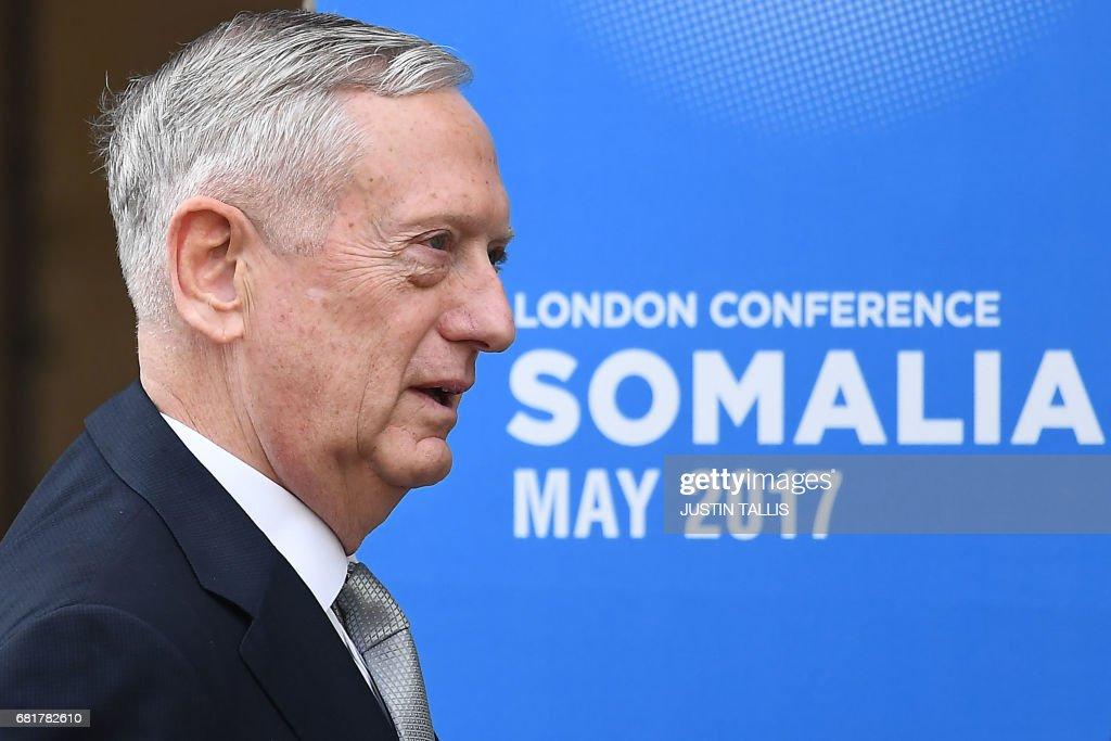 BRITAIN-SOMALIA-DIPLOMACY-SECURITY : News Photo