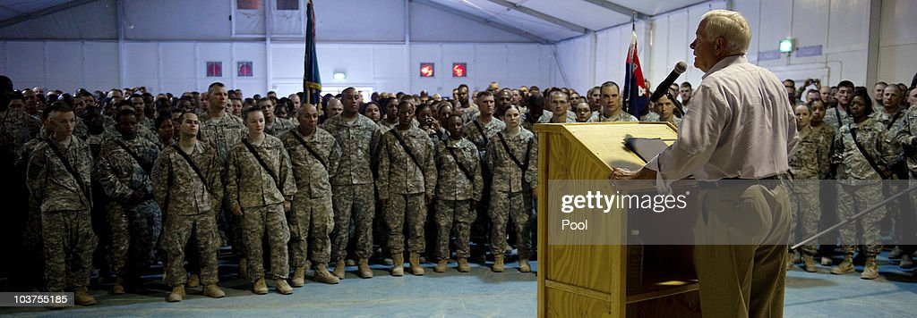 Defense Secretary Robert Gates Brings Operation Iraqi Freedom To An End