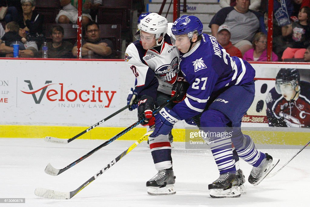 Mississauga Steelheads V Windsor Spitfires : News Photo