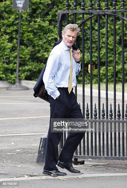 Defendant Gordon Wood walks away from Darlinghurst Court on October 28, 2008 in Sydney, Australia. Wood was accused of the murder of model Caroline...