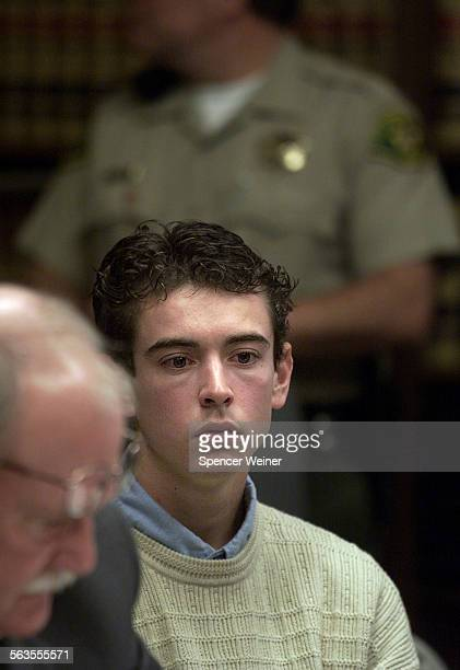 Defendant Graham Pressley in Santa Barbara Court Jan15 2003 for his role in the kidnapping and fatal shooting of 15–year–old Nicholas Markowitz He...