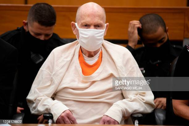 Defendant Joseph James DeAngelo looks on in the courtroom during the third day of victim impact statements at the Gordon D. Schaber Sacramento County...