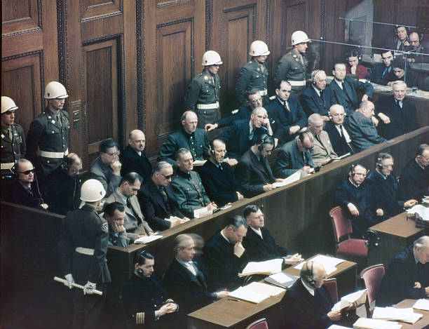 DEU: 20th November 1945 - 75 Years Since Start Of The Nuremberg Trials