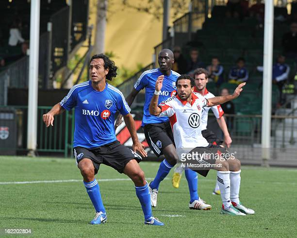 Defender Alessandro Nesta of the Montreal Impact runs upfield against DC United February 16 2013 in the third round of the Disney Pro Soccer Classic...