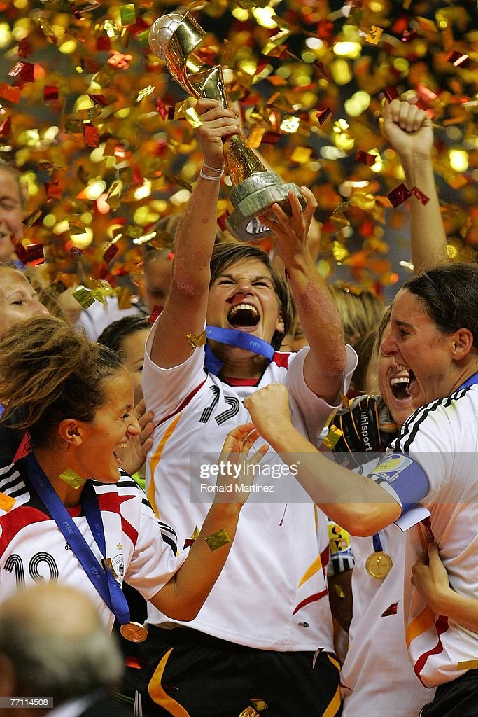Brazil v Germany - Womens World Cup 2007 Final : News Photo