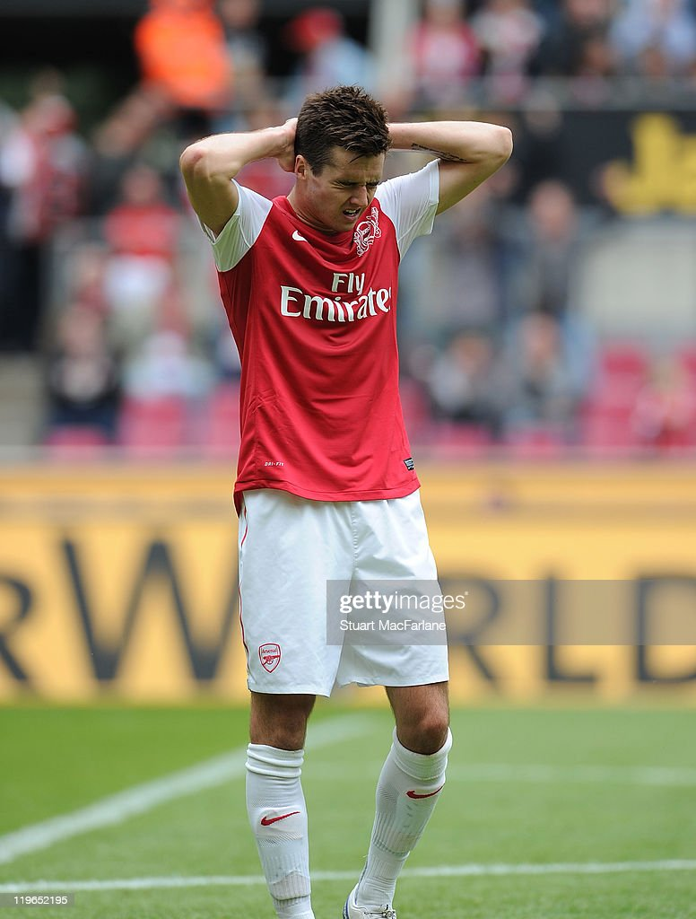 Cologne v Arsenal - Pre Season Friendly : News Photo