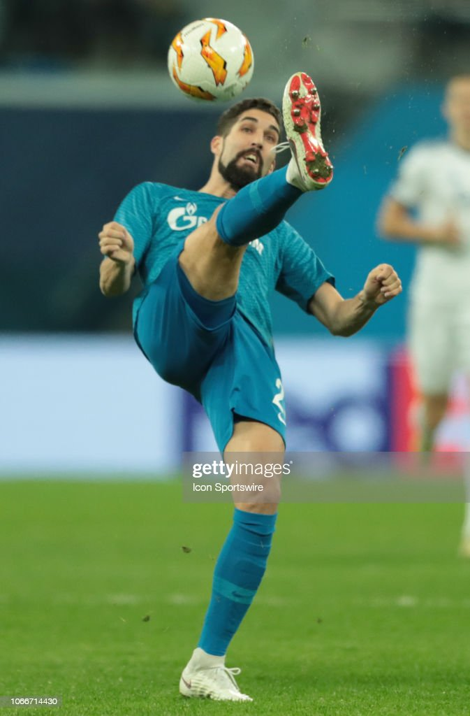 SOCCER: NOV 29 UEFA Europa League - FC Copenhagen at FC Zenit : News Photo