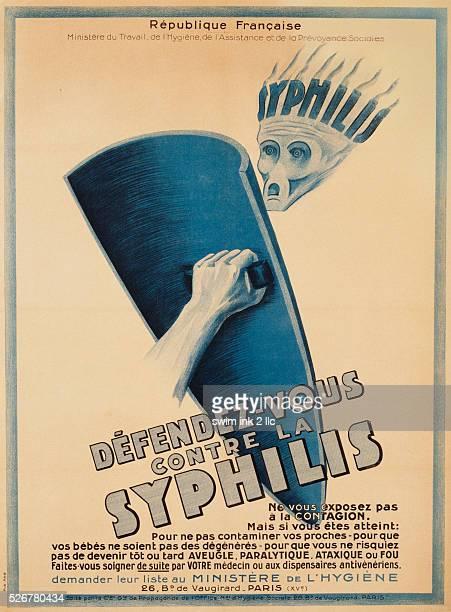 DefendezVous Contre La Syphilis Poster