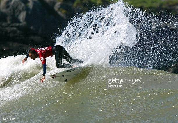 Defending Billabong Pro champion Shane Dorian of HawaiiUSA was an upset when he was eliminated by newly crowned Quiksilver Pro Franc champion Neco...