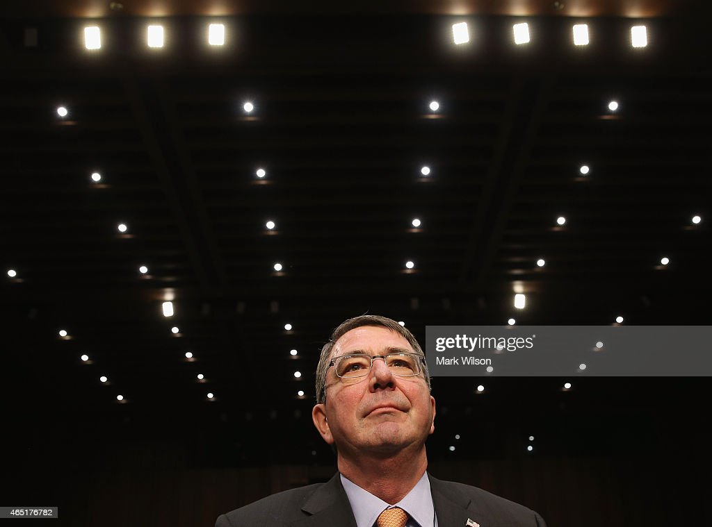 Defense Secretary Ashton Carter And Gen. Dempsey Testify To Senate Committee On Defense Budget