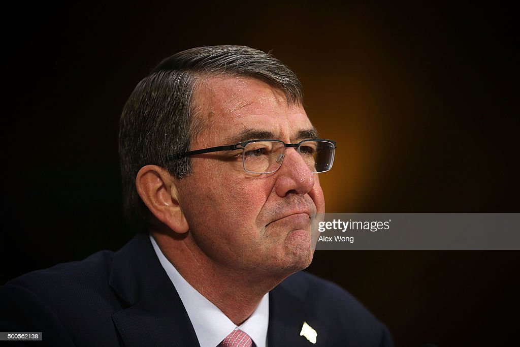 Defense Secretary Carter Testifies To Senate Committee On Policy Towards Combatting ISIS