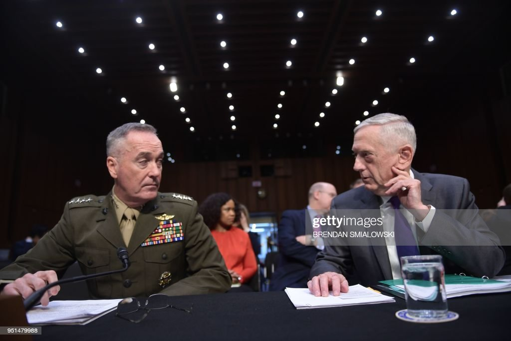 Secretary Of Defense Mattis Hosts Israeli Defense Minister At The Pentagon