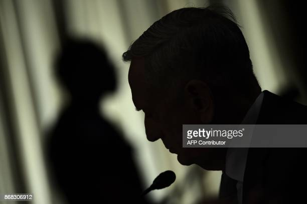 US Defense Secretary James Mattis testifies at a full committee hearing on 'The Authorizations for the Use of Military Force Administration...