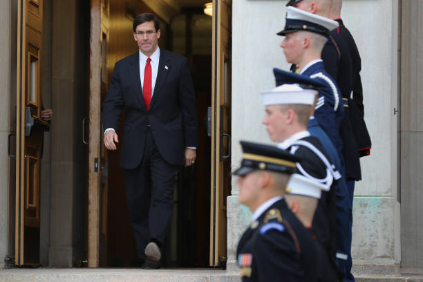 VA: Defense Secretary Mark Esper Meets With South Korean National Defense Minister Jeong Kyeong-doo