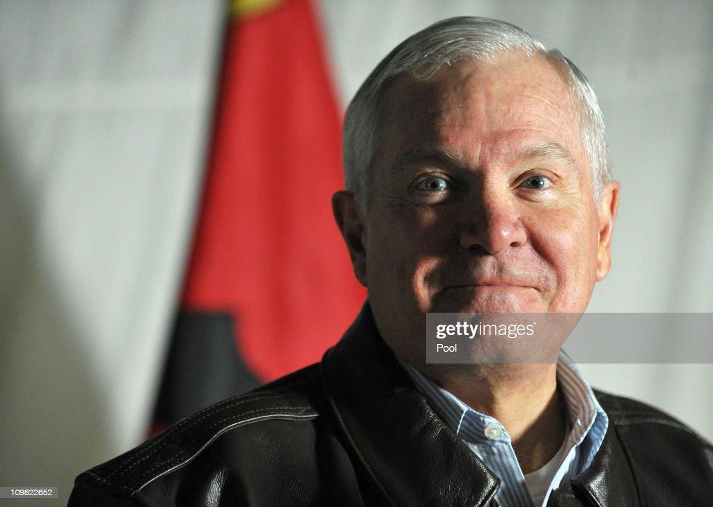 US Defense Secretary Robert Gates Visits Kabul