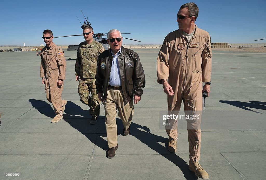 Secretary Robert Gates Tours Afghanistan