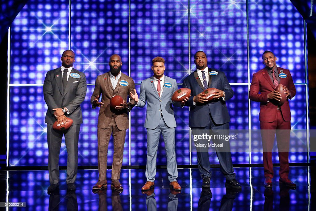 FEUD - 'AFC Defense vs NFC Offense and AFC Offense vs NFC Defense' - 'Celebrity Family Feud' will feature football players from the AFC and NFC's Offense and Defense teams, on SUNDAY, JULY 3 (8:00-9:00 p.m. EDT), on the ABC Television Network. 'Celebrity Family Feud' is hosted by Steve Harvey, the highly popular multi-hyphenate standup comedian, actor, author, deejay and Emmy Award-winning talk-show and game-show host. CLIFF