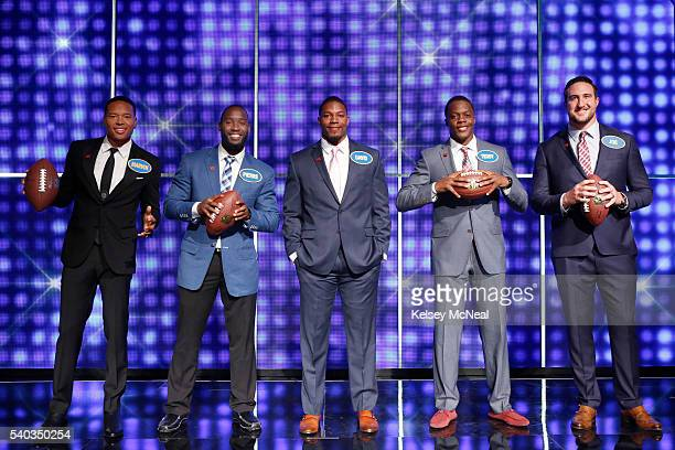 """Defense vs NFC Offense and AFC Offense vs NFC Defense"""" - """"Celebrity Family Feud"""" will feature football players from the AFC and NFC's Offense and..."""