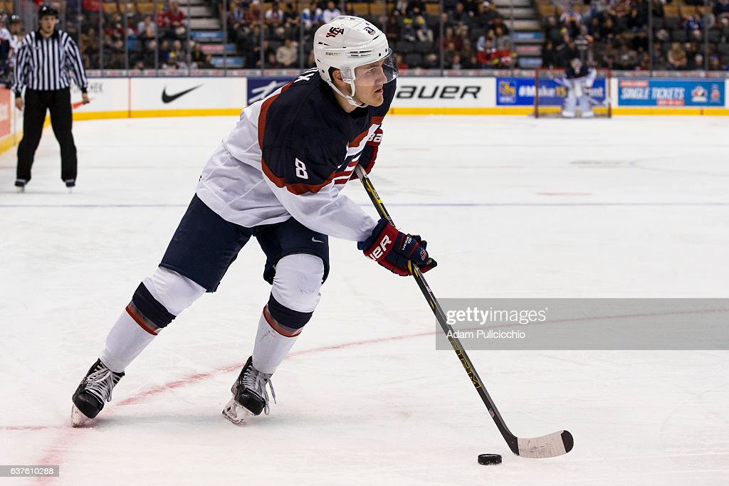 Slovakia v United States - 2017 IIHF World Junior Championship : News Photo