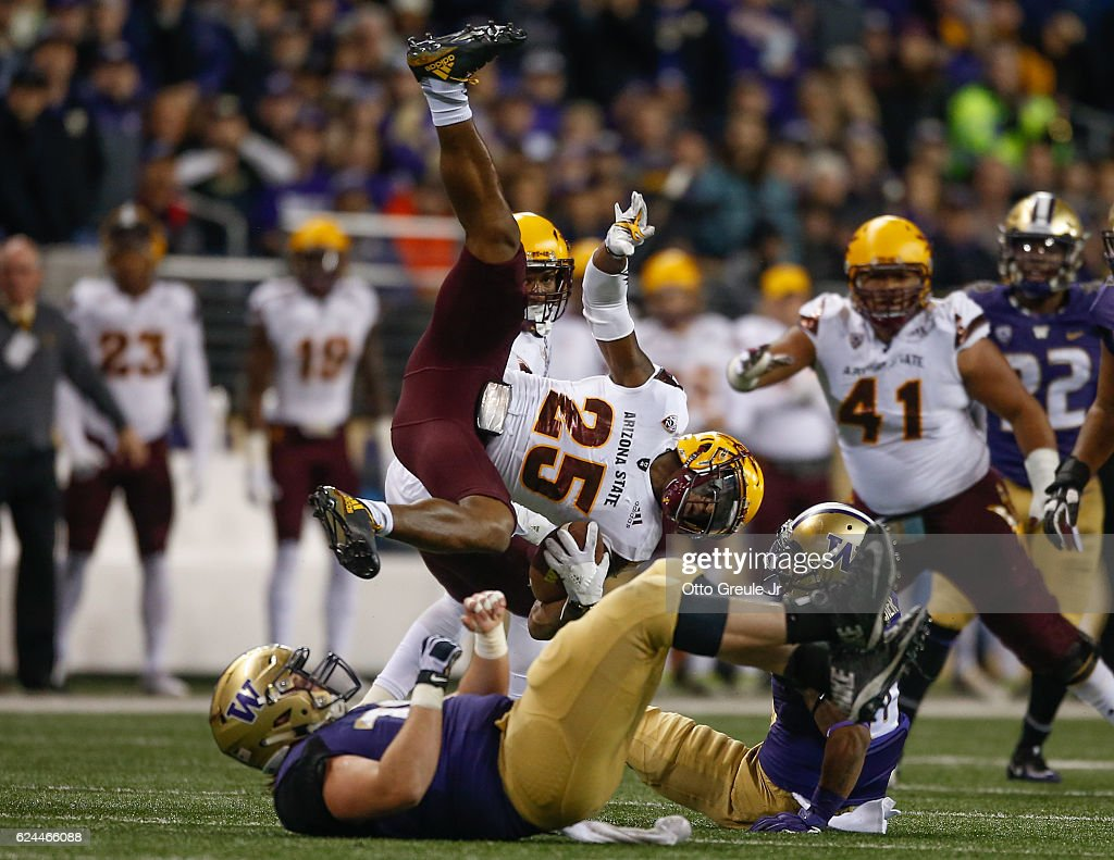 Arizona State v Washington : News Photo