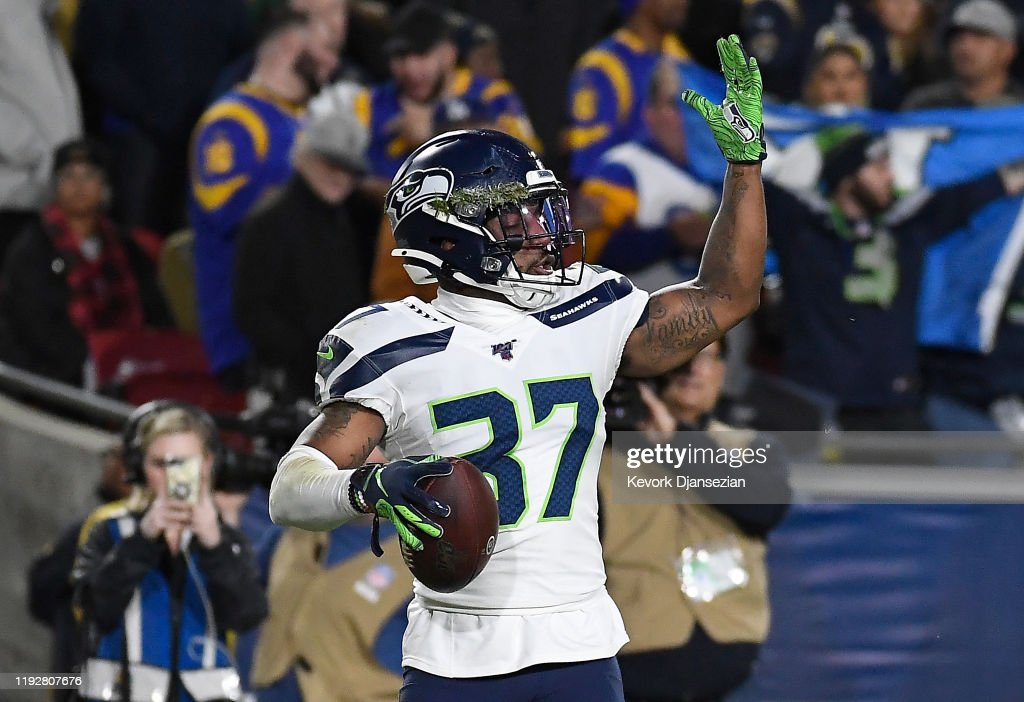 Seattle Seahawks v Los Angeles Rams : News Photo
