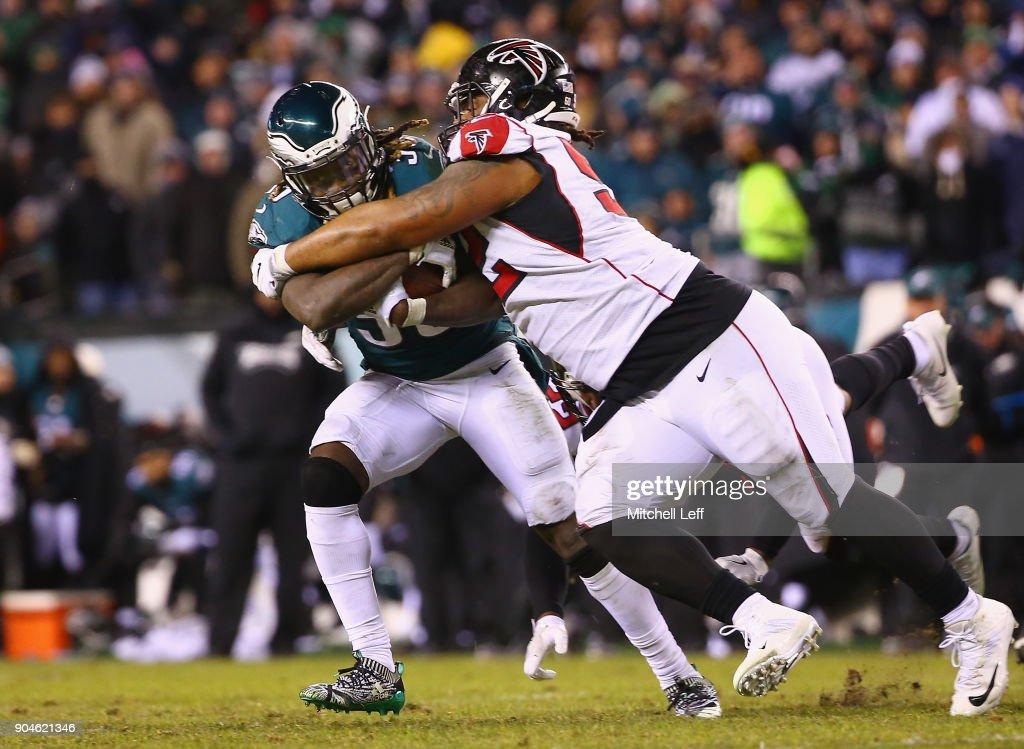 Divisional Round - Atlanta Falcons v Philadelphia Eagles : News Photo