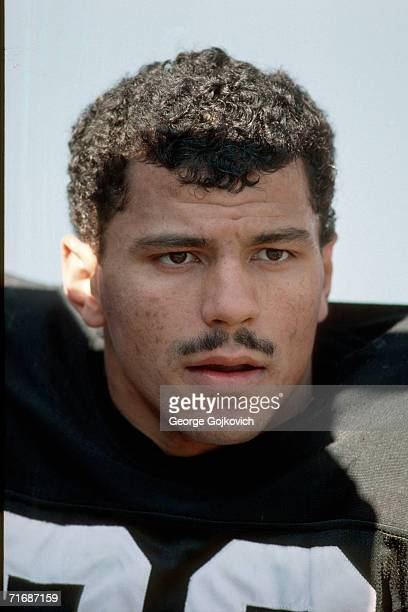 Defensive back Rod Woodson of the Pittsburgh Steelers on the sideline during a game against the Chicago Bears at Three Rivers Stadium on November 12,...