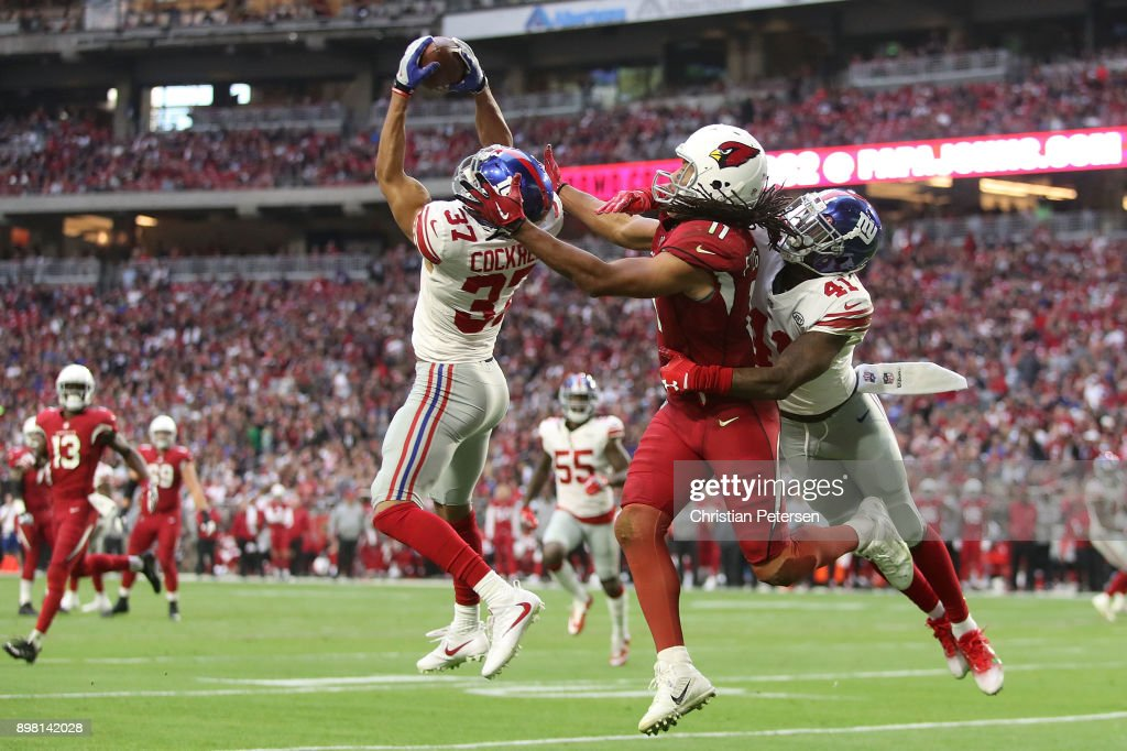 New York Giants v Arizona Cardinals