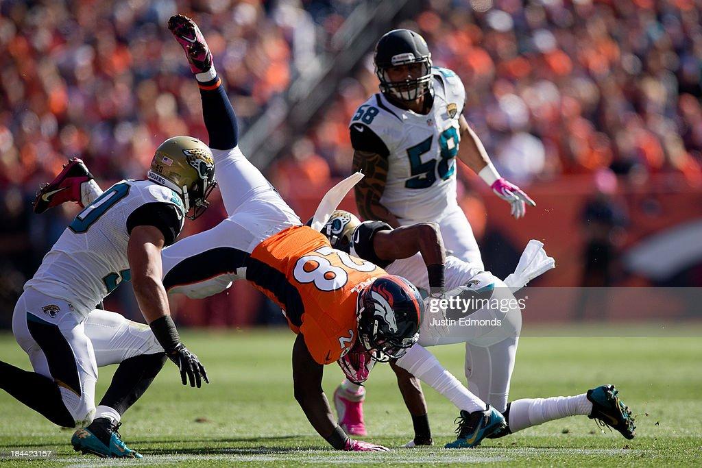 Jacksonville Jaguars v Denver Broncos : Foto jornalística