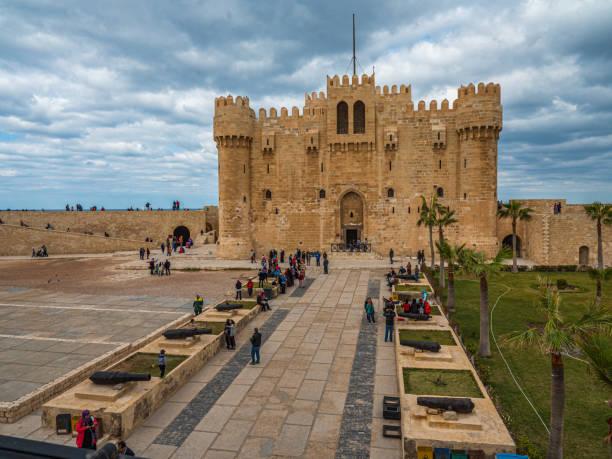 Defensive Citadel of Qaitbay, Alexandria, Egypt
