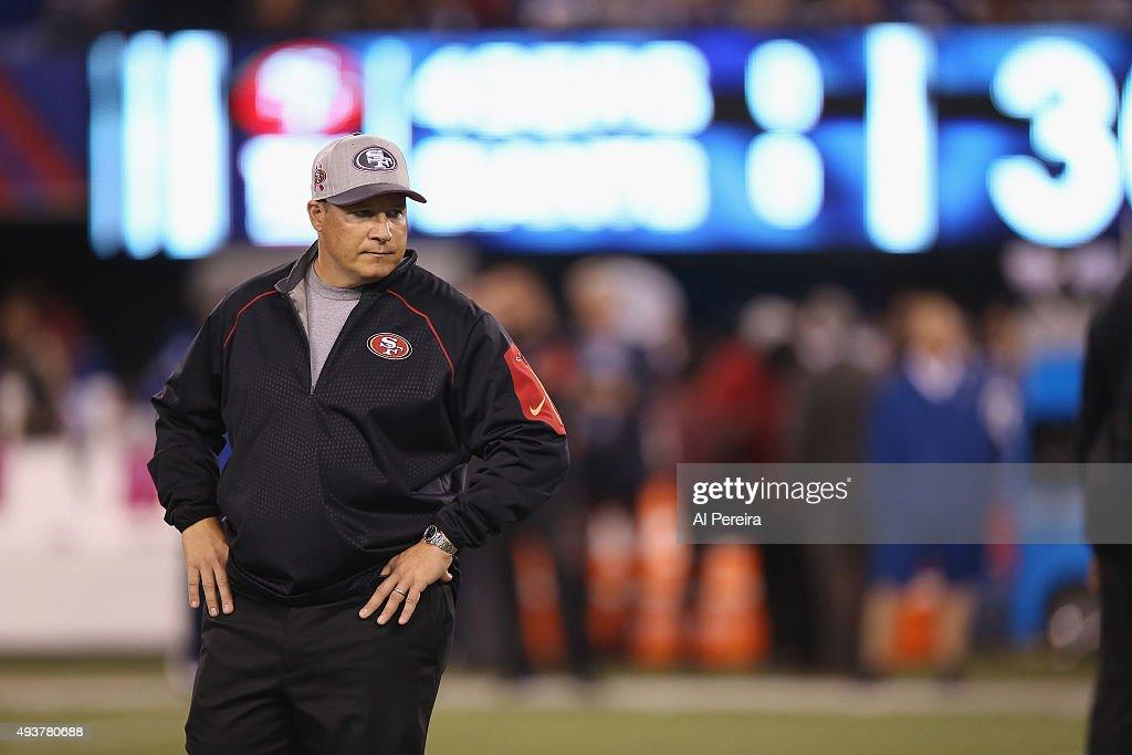 San Francisco 49ers v New York Giants