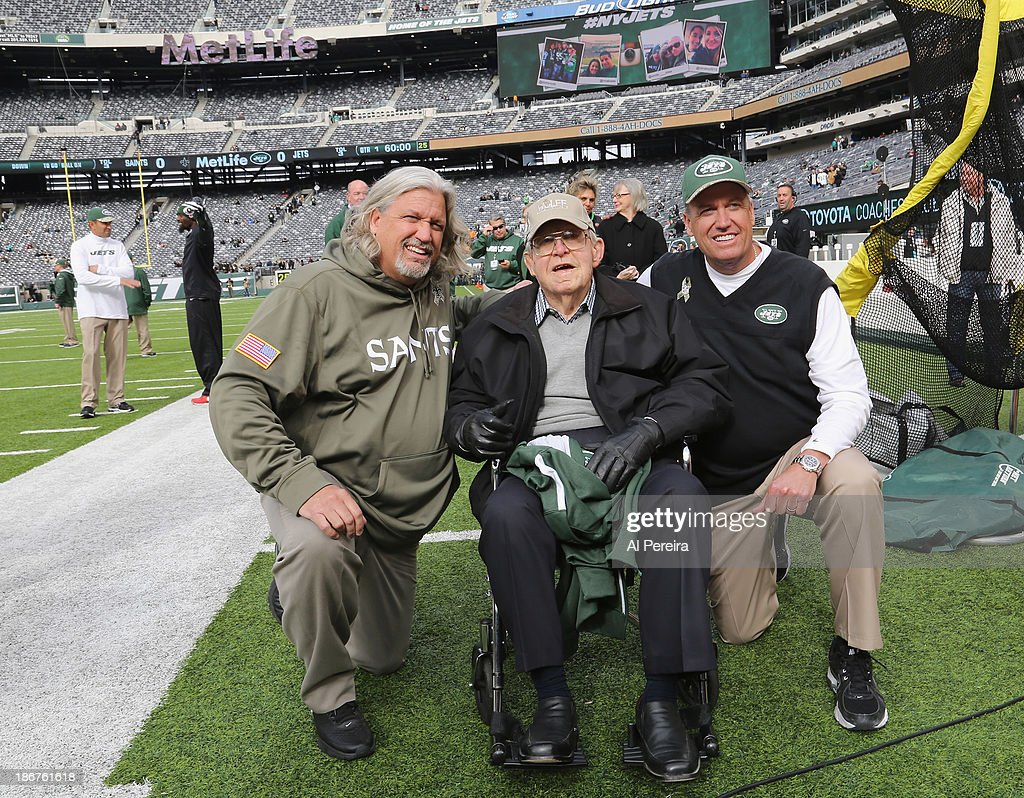 Celebrities Attend The New Orleans Saints Vs New York Jets Game - November 3, 2013