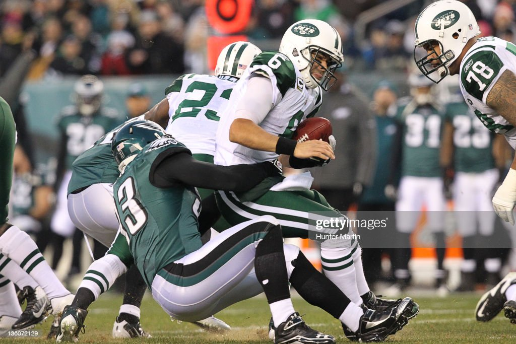 New York Jets v Philadelphia Eagles : Foto jornalística
