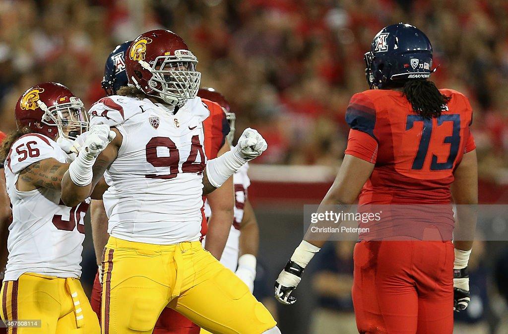 USC v Arizona : News Photo