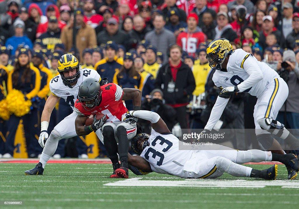 NCAA FOOTBALL: NOV 26 Michigan at Ohio State : News Photo