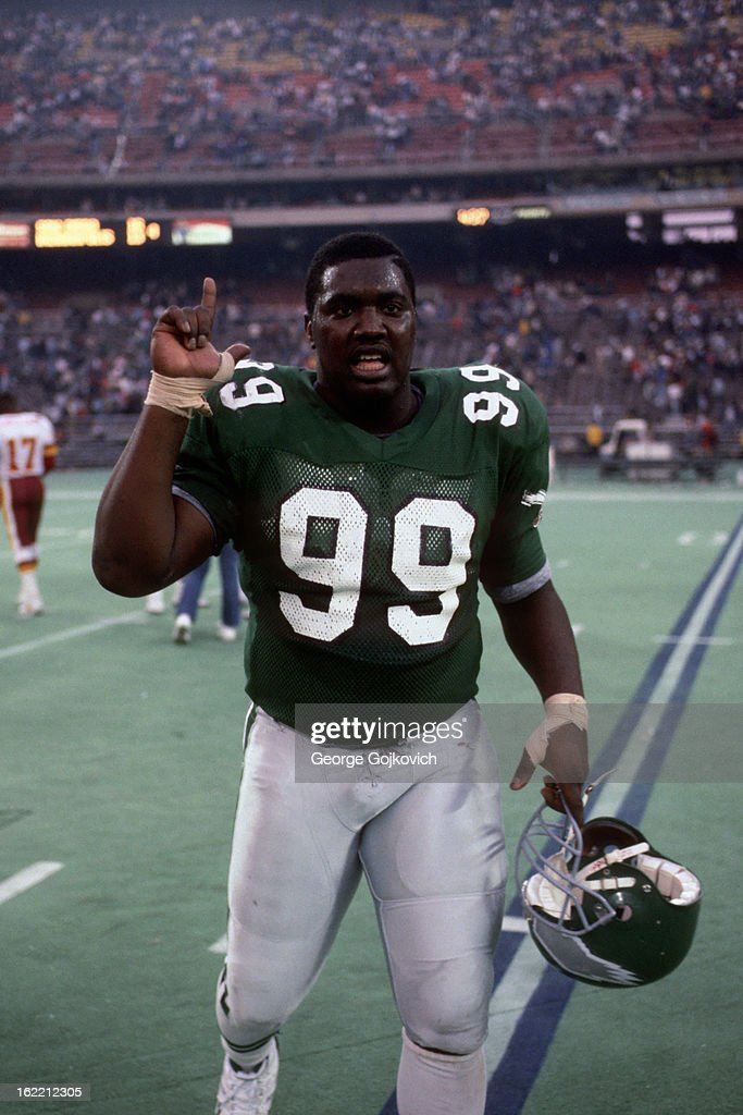 Eagles Jerome Brown : News Photo