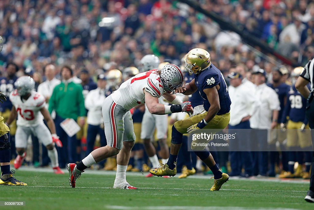 BattleFrog Fiesta Bowl - Ohio State v Notre Dame : News Photo