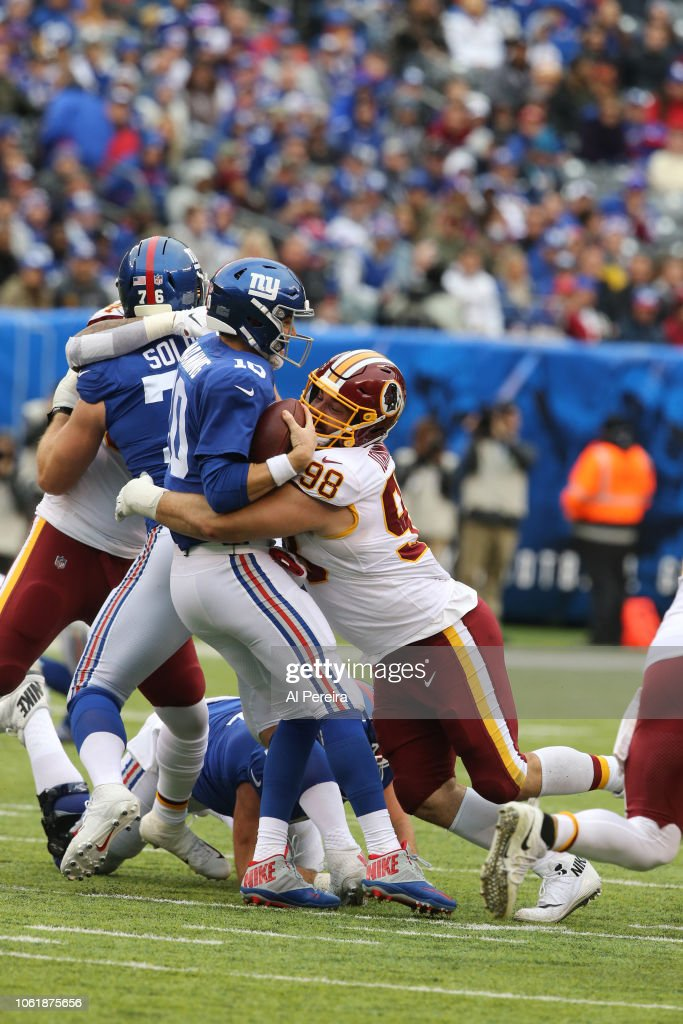 Washington Redskins v New York Giants : News Photo