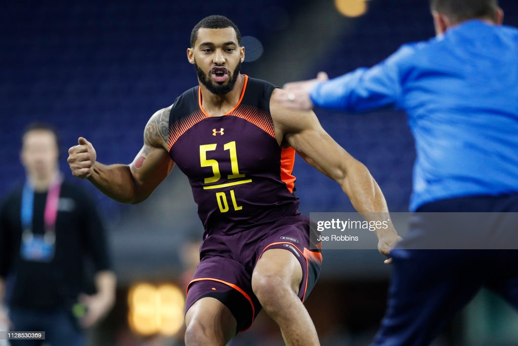 NFL Combine - Day 4 : News Photo