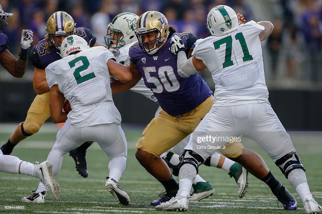 Portland State v Washington : News Photo