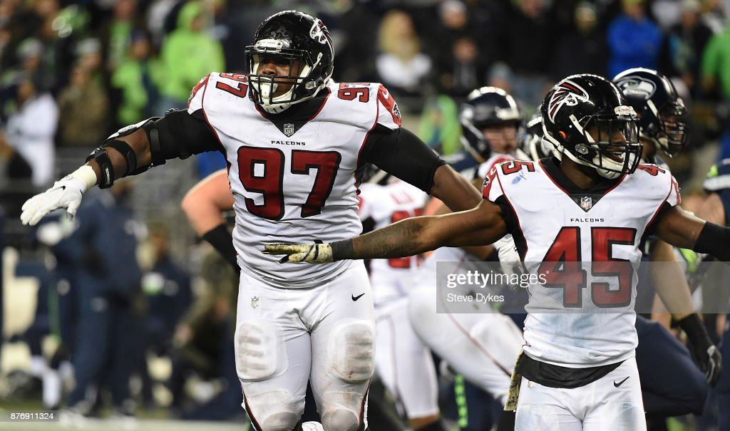 Atlanta Falcons vSeattle Seahawk : News Photo