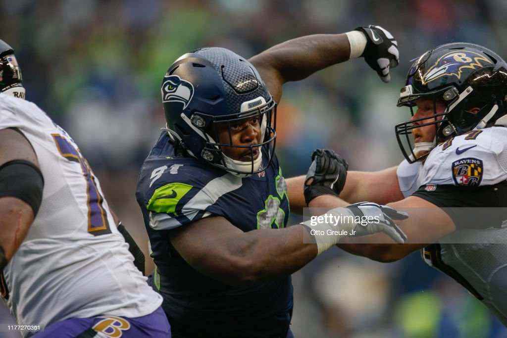 Baltimore Ravens v Seattle Seahawks : News Photo
