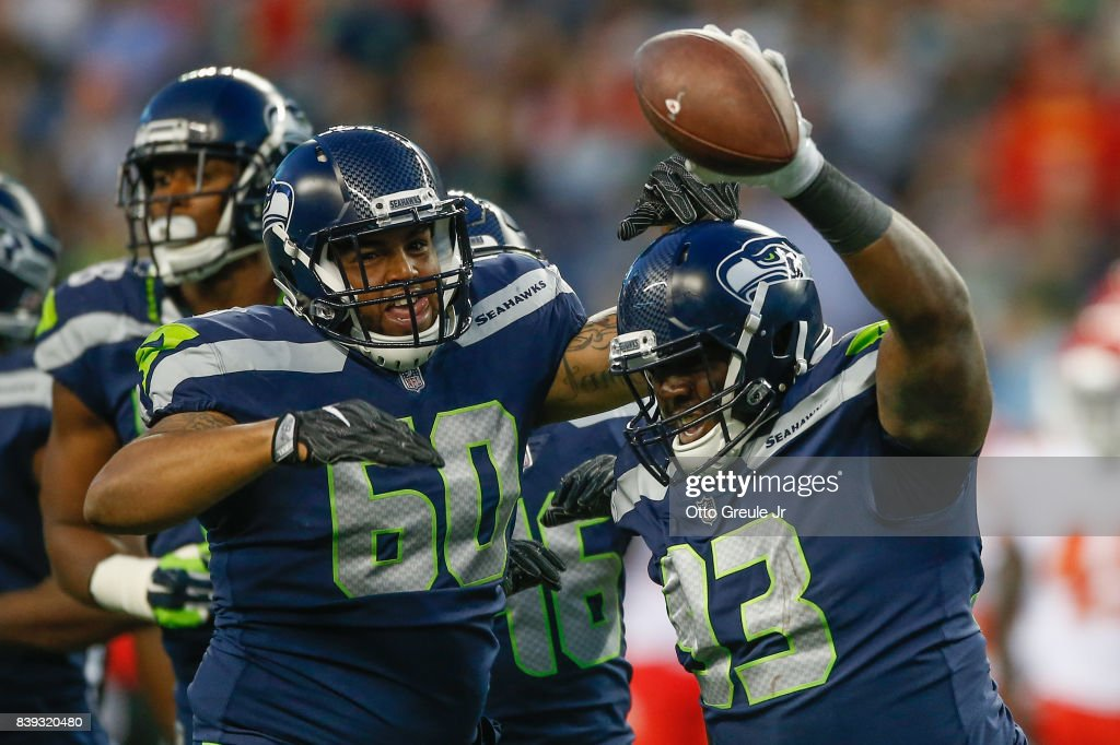 Kansas City Chiefs v Seattle Seahawks : Nachrichtenfoto