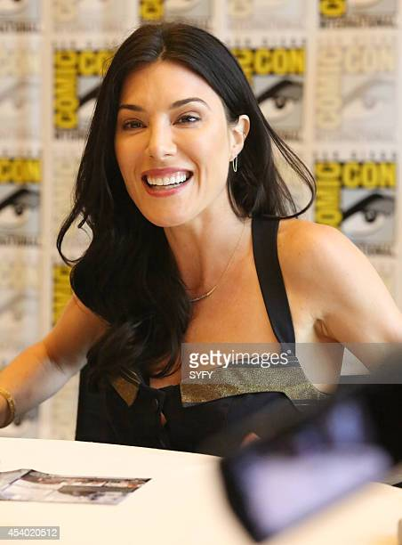 DIEGO Defiance Press Room/Panel Pictured Jaime Murray